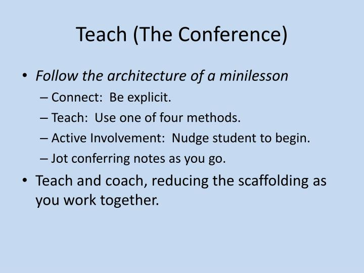 Teach (The Conference)