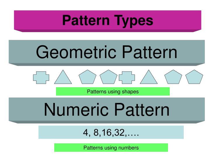 Pattern Types
