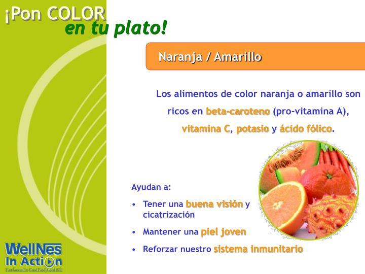 Naranja / Amarillo
