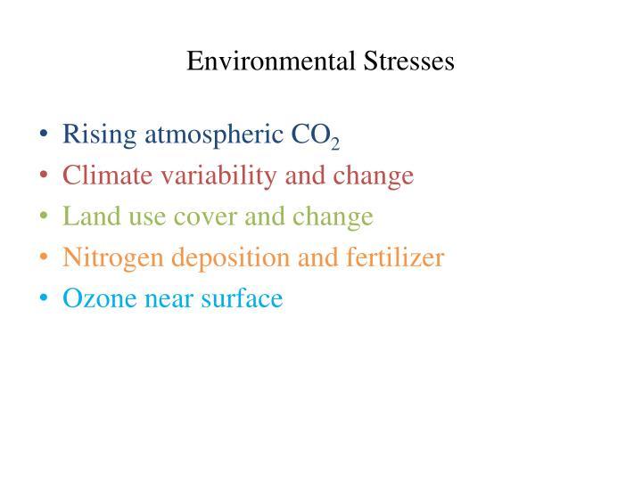Environmental Stresses