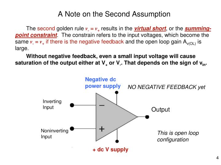 A Note on the Second Assumption