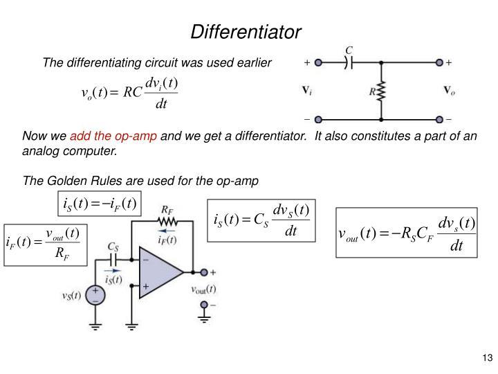 Differentiator