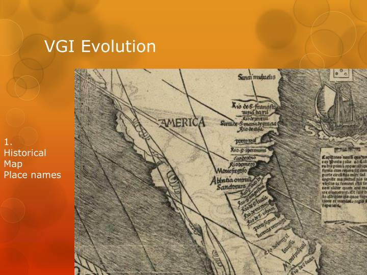 VGI Evolution