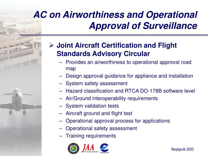 AC on Airworthiness and Operational