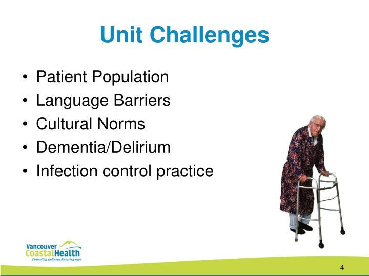 Unit Challenges