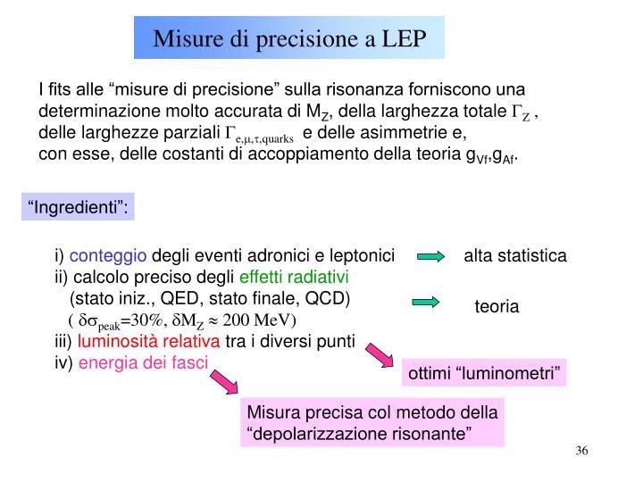 Misure di precisione