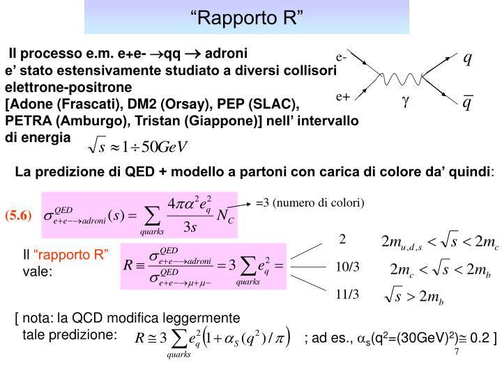 """""""Rapporto R"""""""