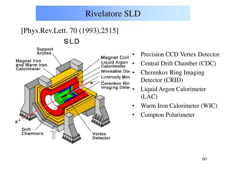Rivelatore SLD