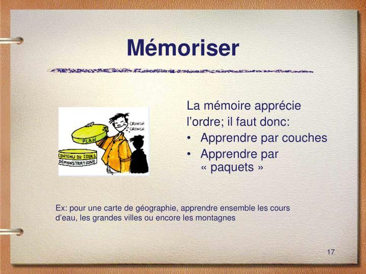 Mémoriser