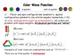 color wave function