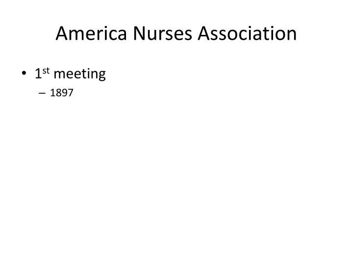 America Nurses Association