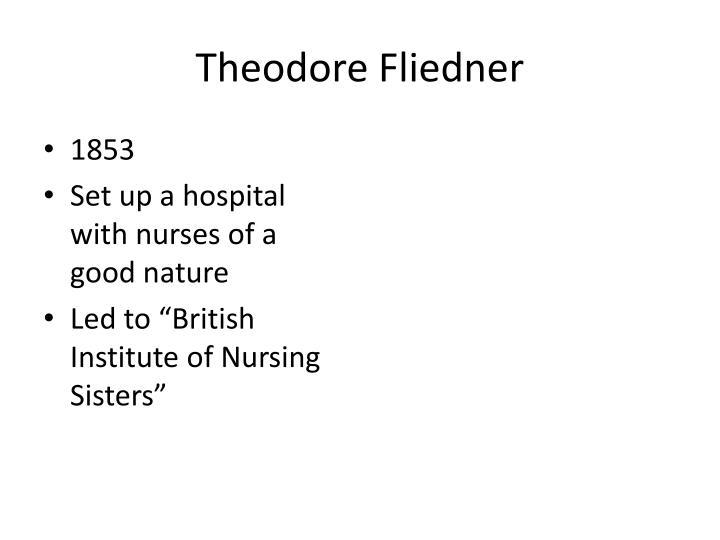 Theodore Fliedner