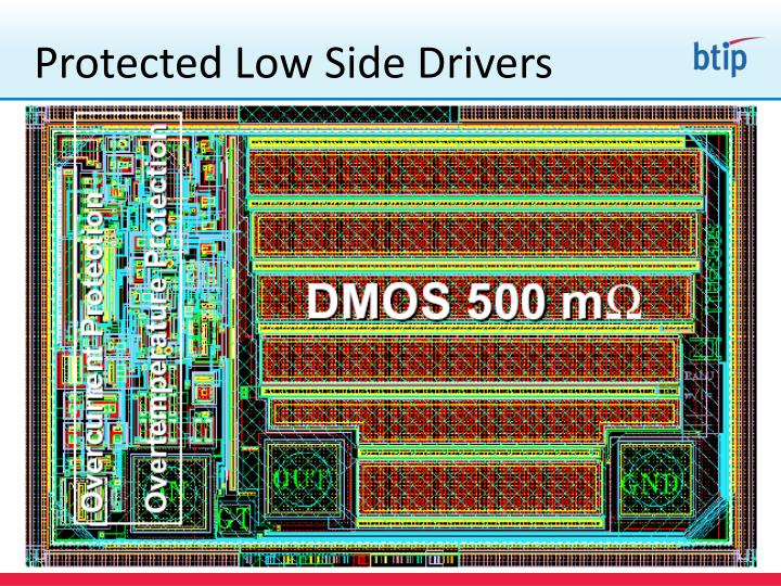 Protected low side drivers1