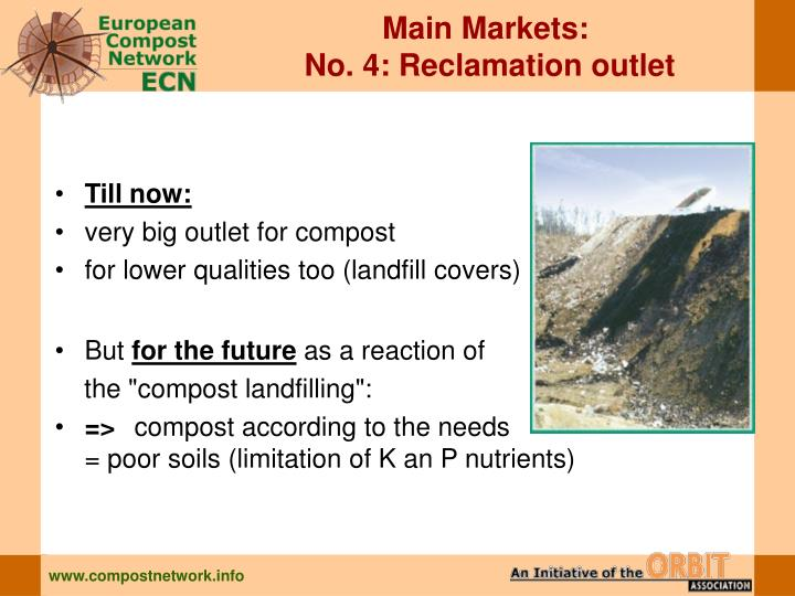 Main Markets: