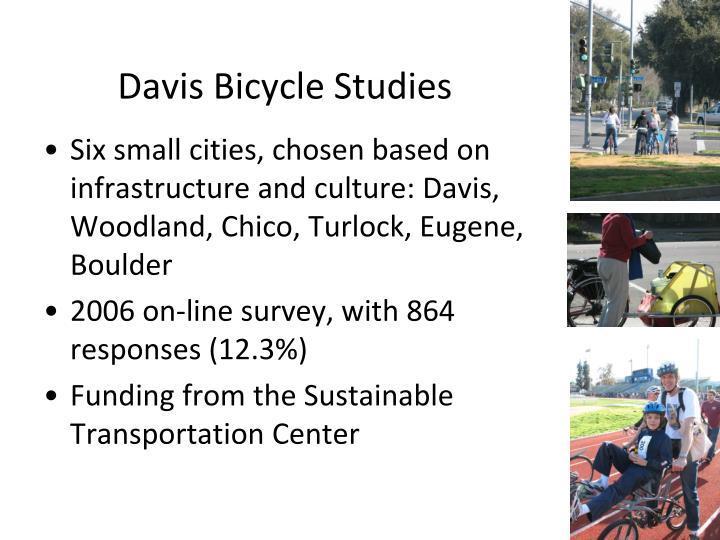 Davis Bicycle Studies