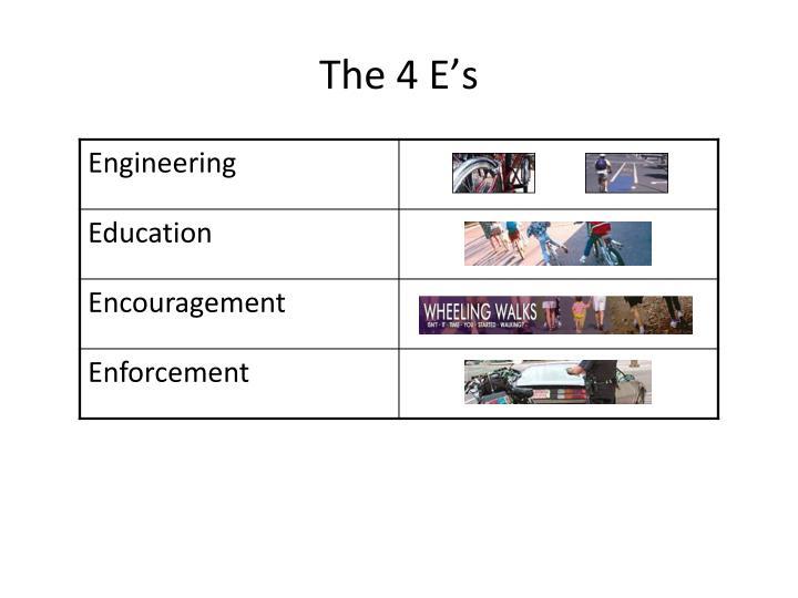 The 4 E's