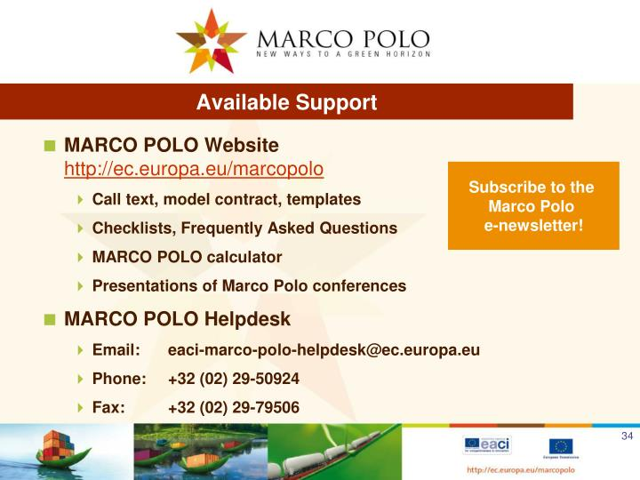 Available Support