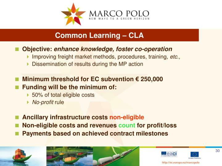 Common Learning – CLA