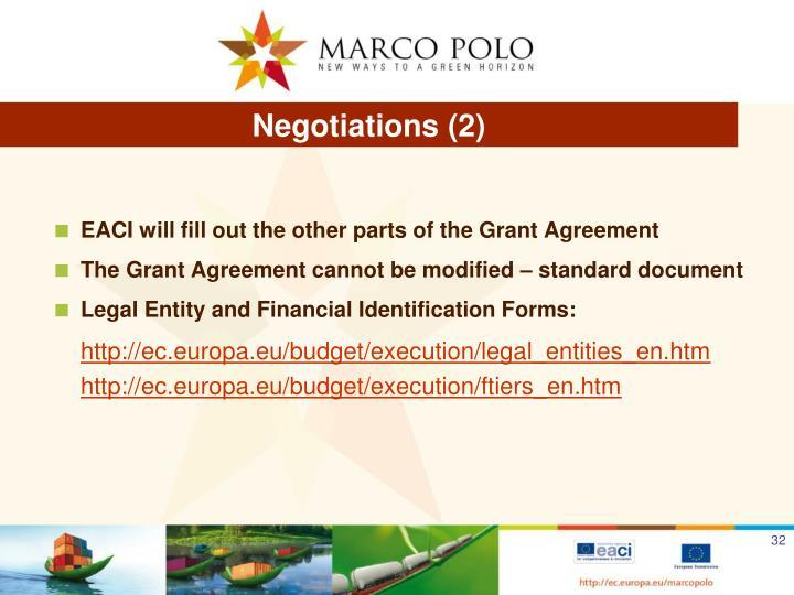 Negotiations (2)