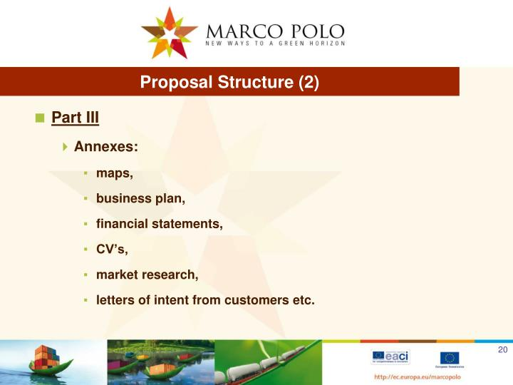 Proposal Structure (2)