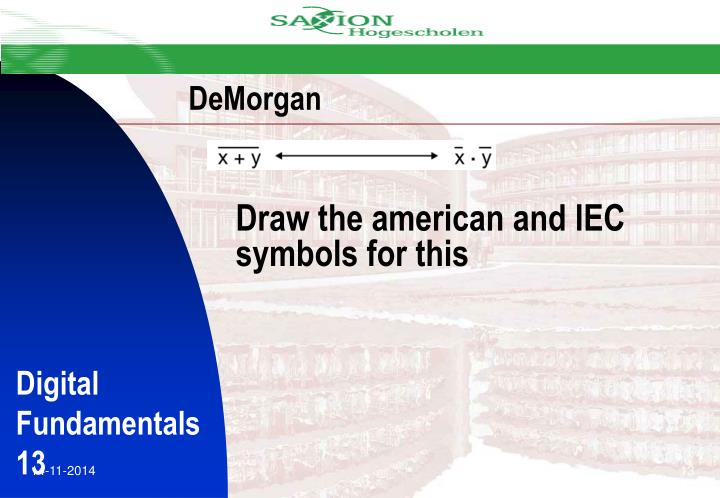 Draw the american and IEC