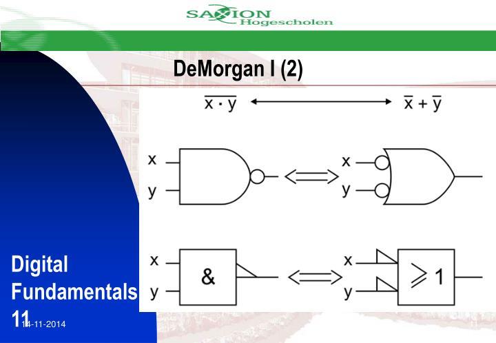 DeMorgan I (2)