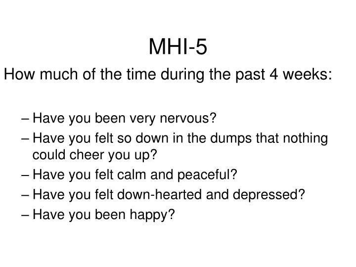 MHI-5