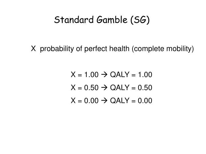 Standard Gamble (SG)