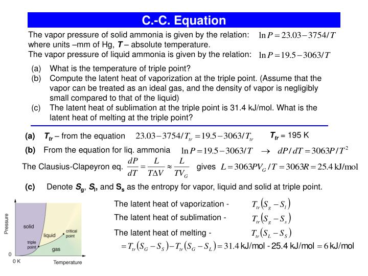 C.-C. Equation
