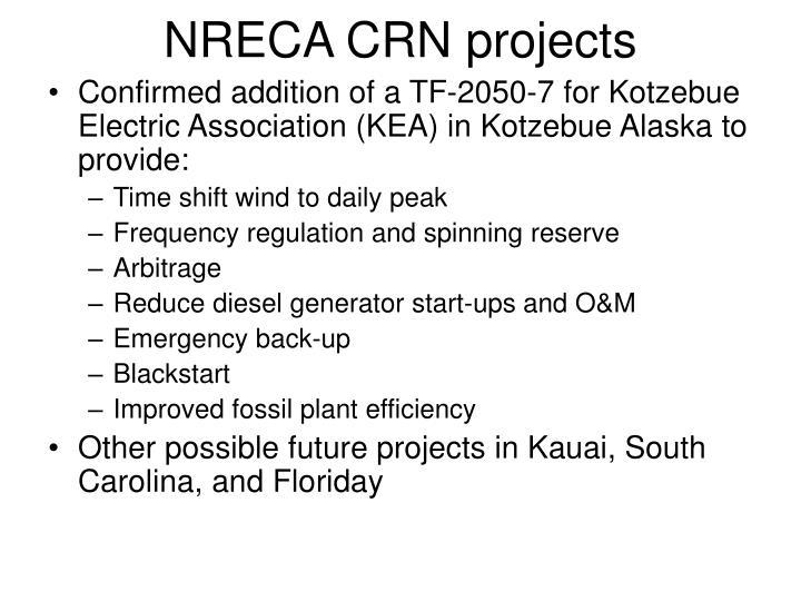 NRECA CRN projects
