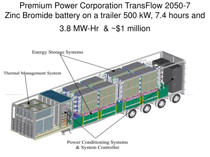 Premium Power Corporation TransFlow 2050-7