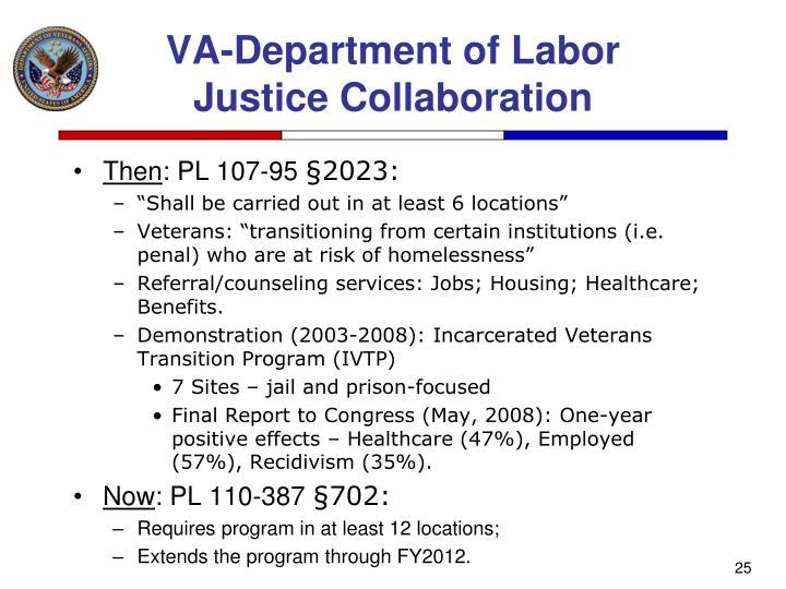 VA-Department of Labor