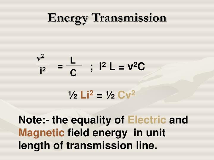 Energy Transmission