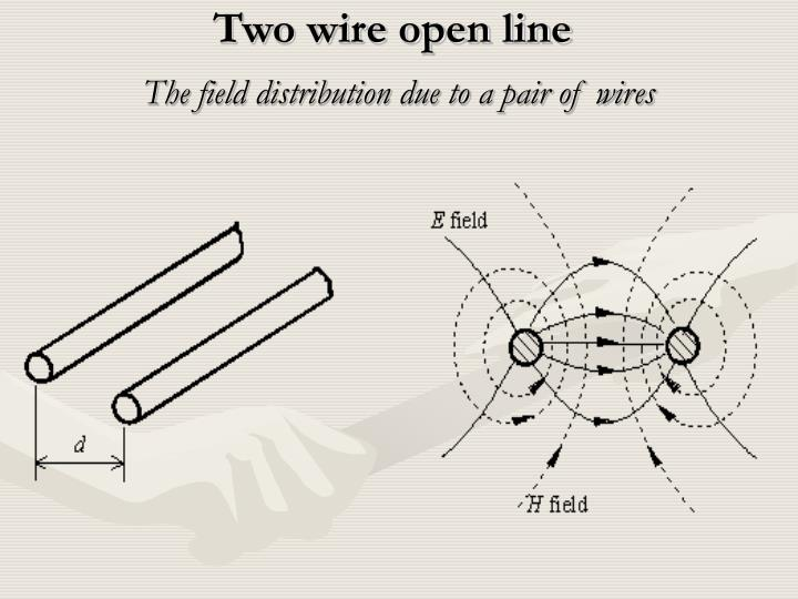 Two wire open line