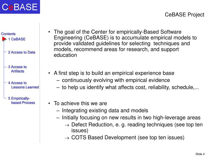 Cebase project