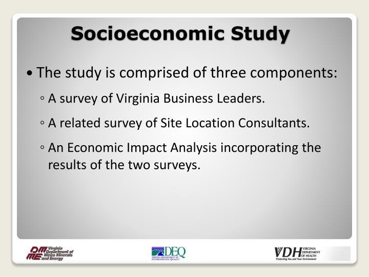 Socioeconomic Study