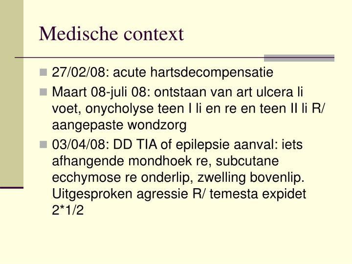 Medische context