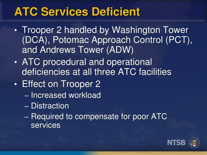 ATC Services Deficient