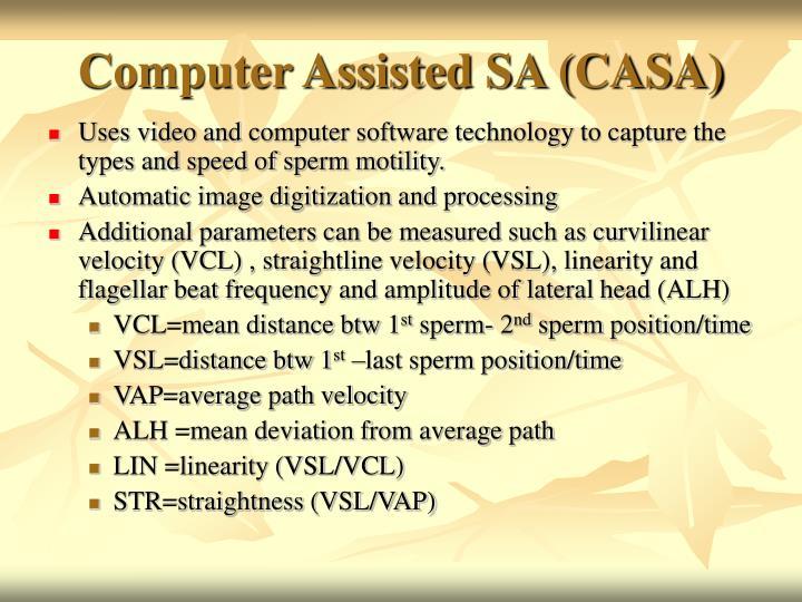 Computer Assisted SA (CASA)
