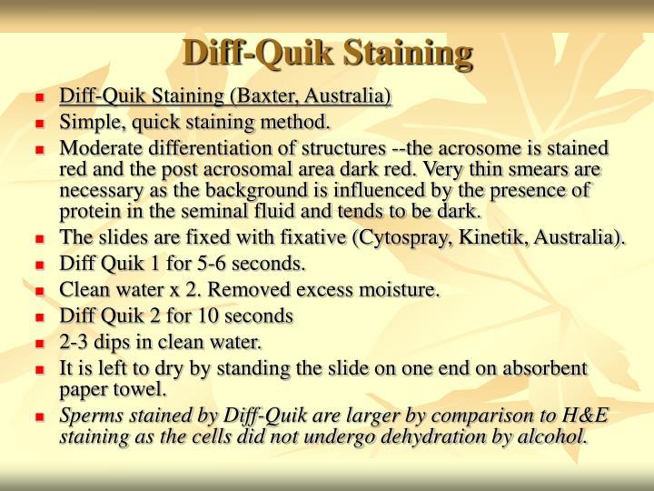 Diff-Quik Staining