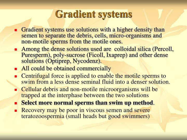 Gradient systems