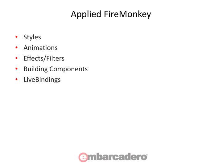 Applied FireMonkey