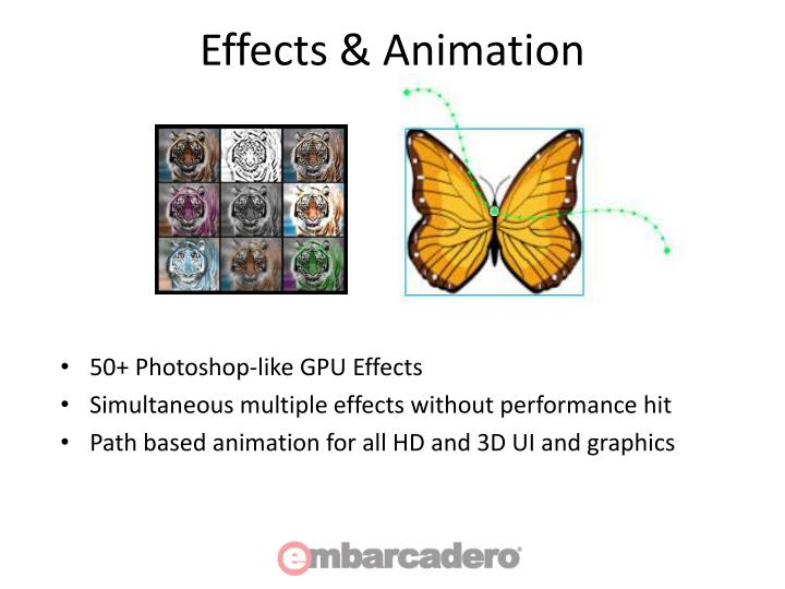 Effects & Animation
