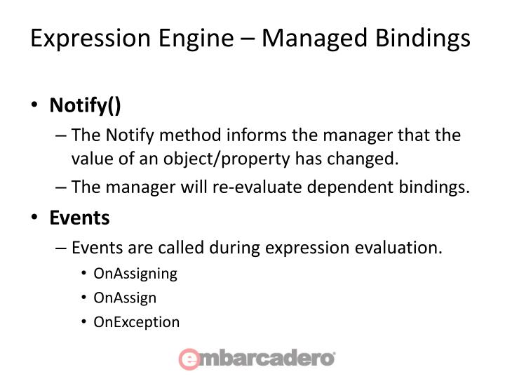 Expression Engine – Managed Bindings
