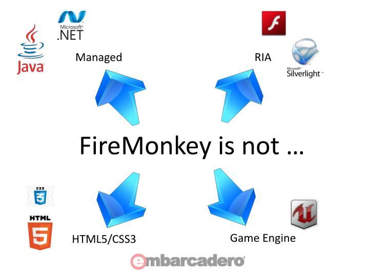 FireMonkey is not …