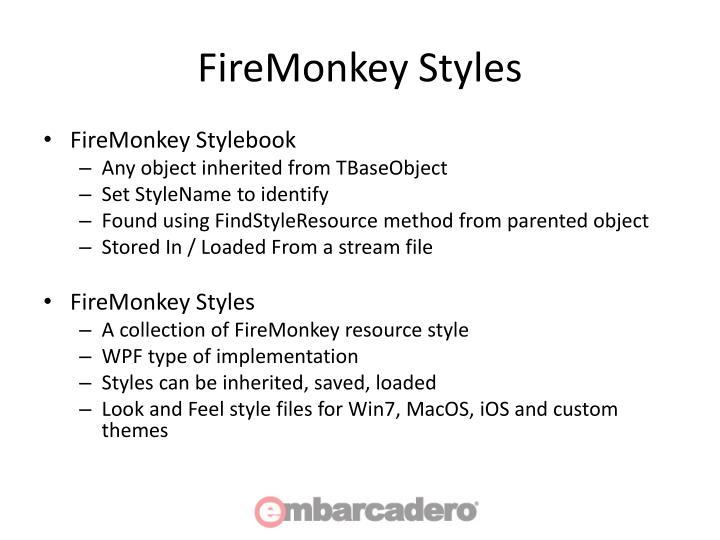 FireMonkey Styles