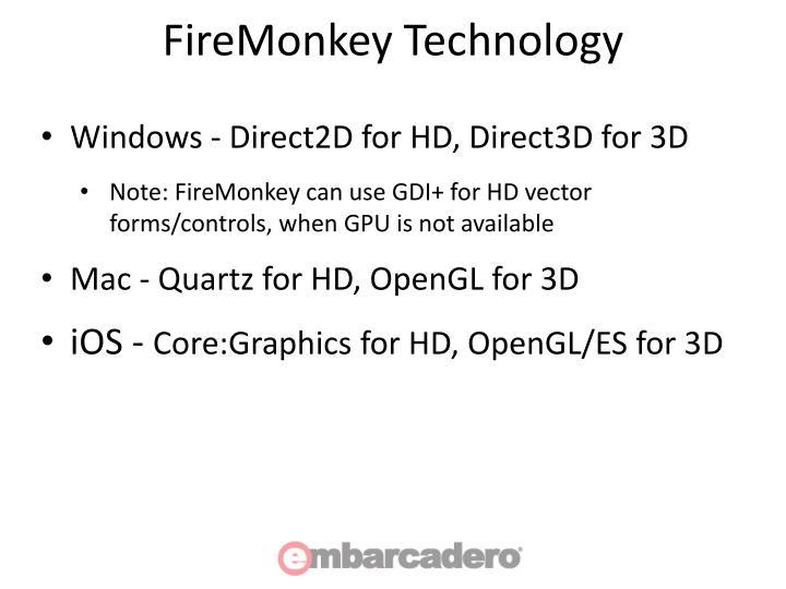 FireMonkey Technology