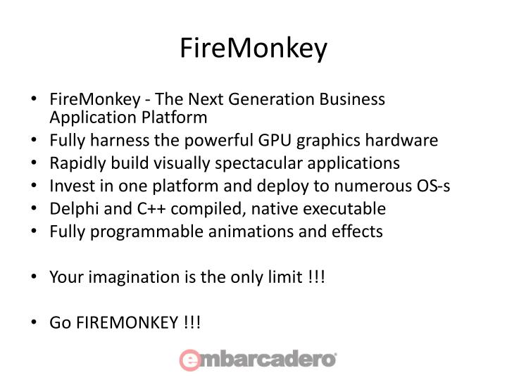 FireMonkey