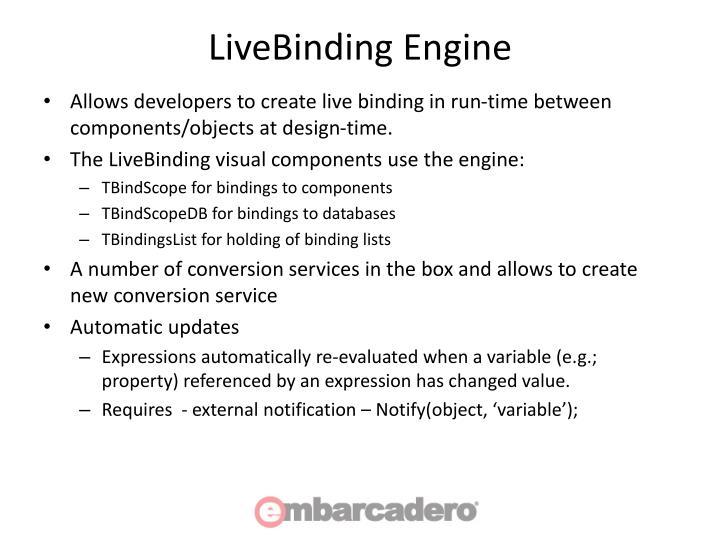 LiveBinding Engine