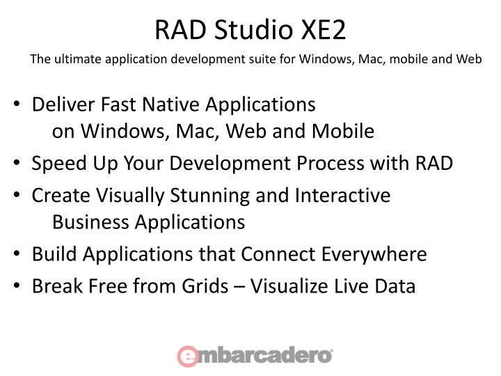 RAD Studio XE2